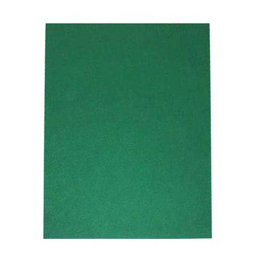 "16mil Green Leather Grain Poly 5.5"" x 8.5"" Covers (50pk) (AKCLT16CSGR02H) Image 1"
