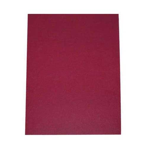 "16mil Maroon Leather Grain Poly 5.5"" x 8.5"" Covers (50pk) (AKCLT16CSMR01H)"