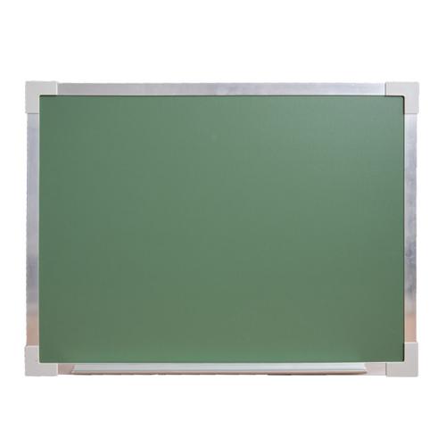 "Flipside 36"" x 48"" Aluminum Framed Green Chalkboard (FS-34710) Image 1"