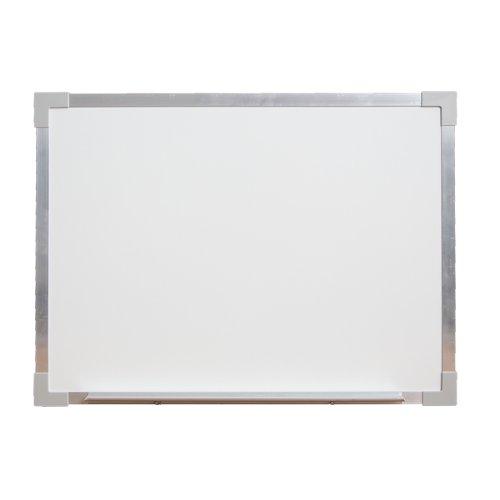 """Flipside 18"""" x 24"""" Aluminum Framed Magnetic Steel Dry-Erase Board (FS-17721) Image 1"""