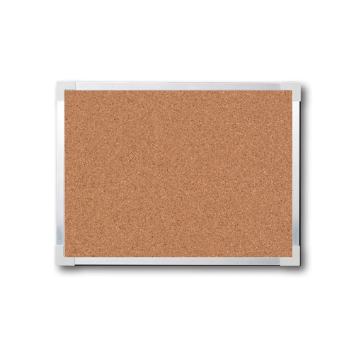 "Flipside 36"" x 48"" Aluminum Framed Natural Cork Board (FS-10410), Brands Image 1"