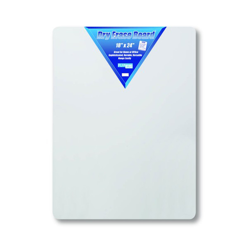 "Flipside 18"" x 24"" Hardboard Backed Unframed Dry-Erase Boards- 12pk (FS-10085), Brands Image 1"