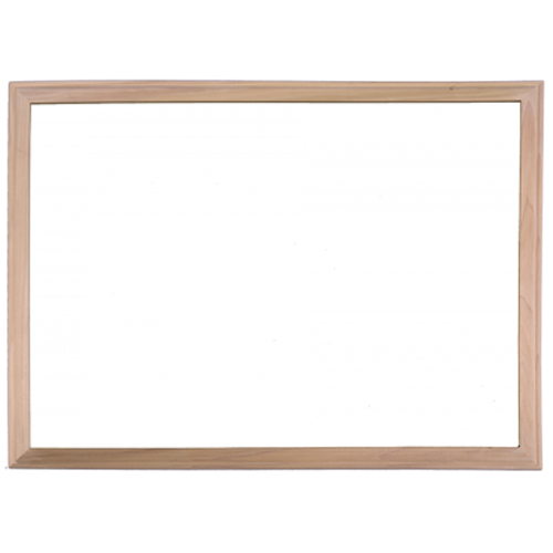 "Flipside 36"" x 48"" Wood Framed White Dry-Erase Board (FS-17640)"