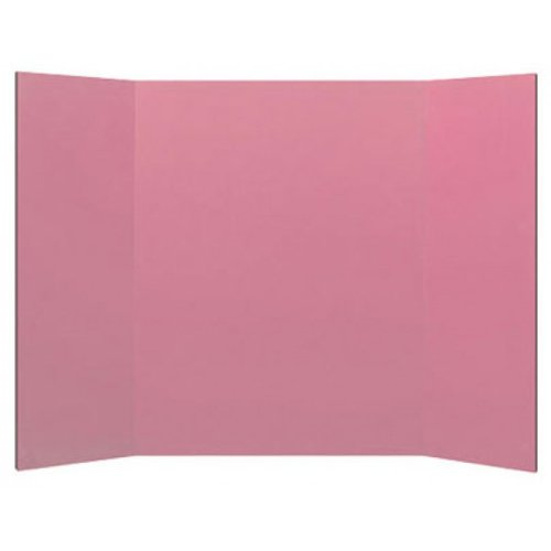 """Flipside 18"""" x 48"""" 1-Ply Pink Corrugated Project Boards - 24pk (FS-18492), Brands Image 1"""