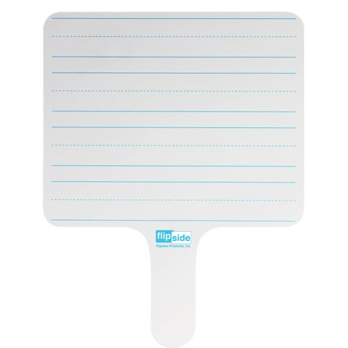 Flipside Two-Sided Rectangular Dry-Erase Writing Paddles - 24pk (FS-18024), Boards Image 1