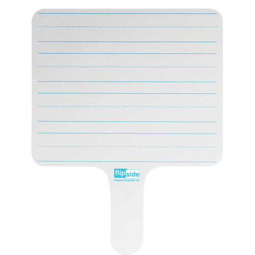 Flipside Two-Sided Rectangular Dry-Erase Writing Paddles (FS-RLP) Image 1