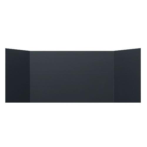 "Flipside 12"" x 48"" Black Foam Study Carrels - 24pk (FS-18223) Image 1"