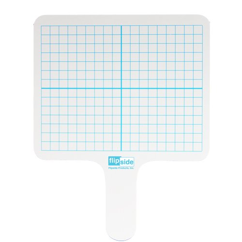 Flipside Two-Sided Rectangular Dry-Erase Graphing Paddles (FS-RGP), Flipside brand Image 1