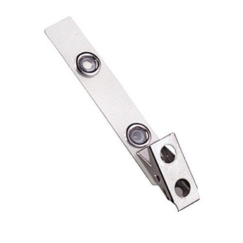 Mylar Straps with Hole Smooth Clips Image 1
