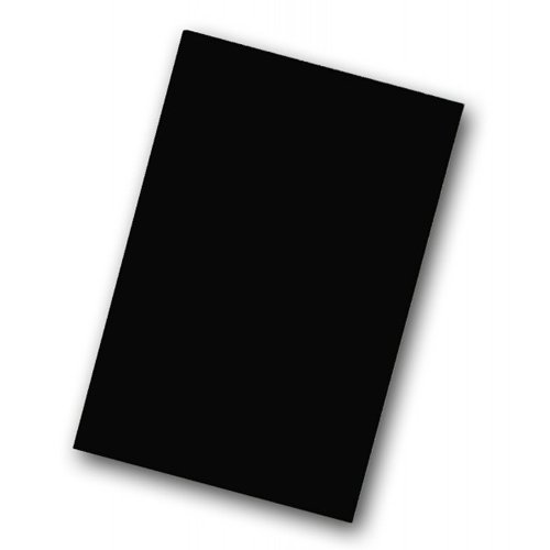 "Flipside 20"" x 30"" Black Corrugated Cardboard Project Sheets - 25pk (FS-32330)"