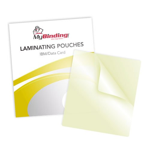 5mil Data Card Sticky Back Laminating Pouches (LKLP5DATACARDA) Image 1