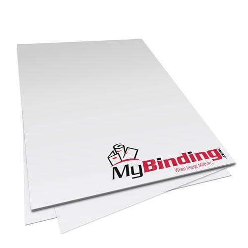 "5.5"" x 8.5"" 24lb Unpunched Binding Paper - 1250 Sheets (PPP24UNP8.5x5.5CS) Image 1"