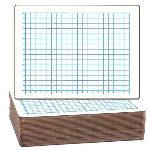 Quadrant Two Sided Dry Erase Lap Boards Image 1