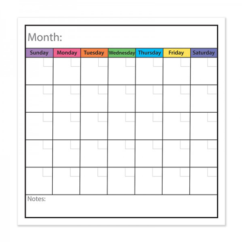 Monthly Calendar to do List Image 1