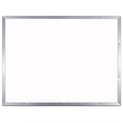 "Flipside 36"" x 48"" Aluminum Framed Melamine Dry-Erase Board (FS-53648) Image 1"