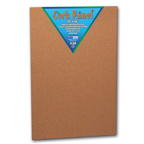 "Flipside 24"" x 36"" Natural Cork Panels - 12pk (FS-37024) Image 1"