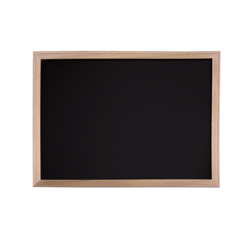 Flipside Wood Framed Black Dry-Erase Boards (FS-WFBLACKDE) Image 1
