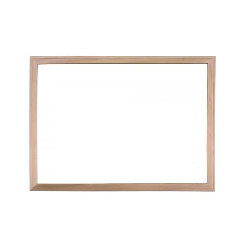 Flipside Wood Framed Magnetic Steel Dry-Erase Boards (FS-WFMSDEB) Image 1