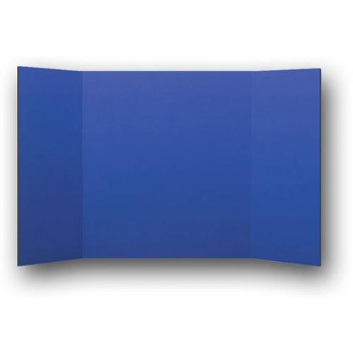 "Flipside 24"" x 48"" 1-Ply Blue Corrugated Project Boards - 24pk (FS-30265) Image 1"