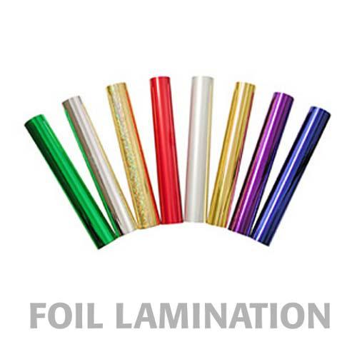 "24"" x 500' Metallic Laminating Foil (MYMET-24X500), Pouches Image 1"
