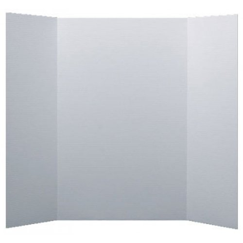"Flipside 28"" x 40"" 1-Ply White Corrugated Project Boards - 24pk (FS-30028) Image 1"