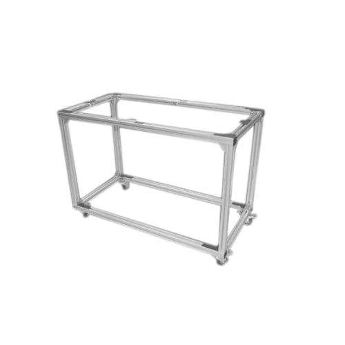 2' x 4' Aluminum Mobile Table Frame ( Multi-Use ) (TBL2448) Image 1