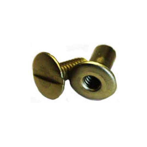 "3/16"" Antique Brass Colored Aluminum Screw Posts - 100pk (SO316ABSP), MyBinding brand Image 1"