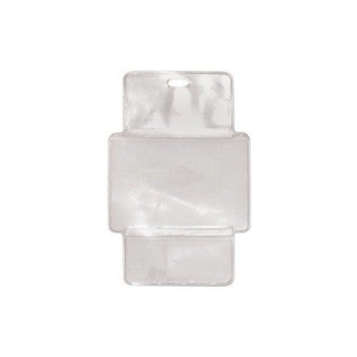 "3-3/4"" x 2-1/2"" 3-Compartment Fold-Over Casino Badge Holders - 100pk (1840-1560) Image 1"