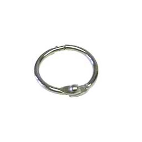 "3"" Metal Loose Leaf Rings - 100pk (MYBR300S) Image 1"