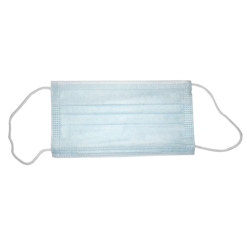 3-Layer Disposable Face Masks - 50/Box (MIS-DFM) Image 1
