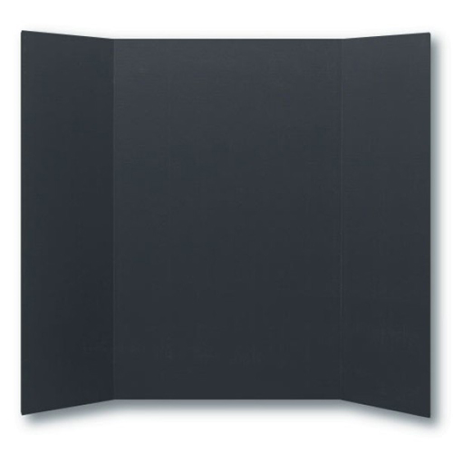 "Flipside 36"" x 48"" 1-Ply Black Corrugated Project Boards - 24pk (FS-30067) - $75.77 Image 1"