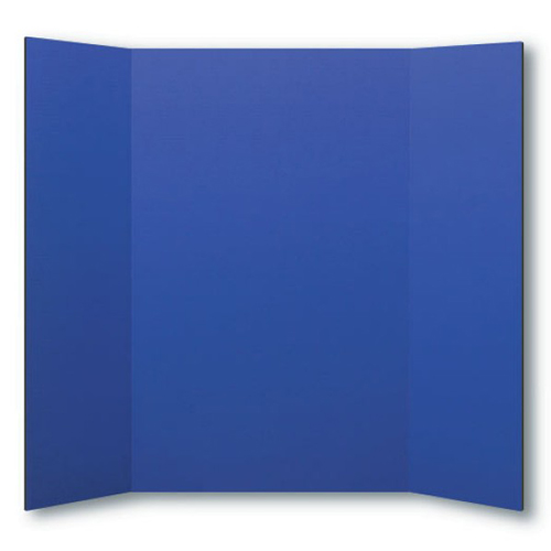 "Flipside 36"" x 48"" 1-Ply Blue Corrugated Project Boards - 24pk (FS-30065) - $75.77 Image 1"