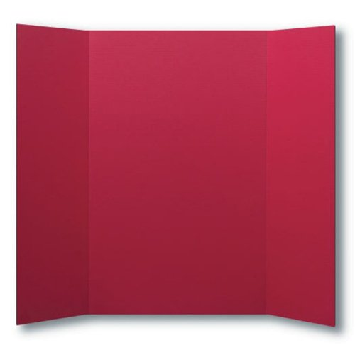 "Flipside 36"" x 48"" 1-Ply Red Corrugated Project Boards - 24pk (FS-30069) Image 1"