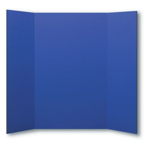 "Flipside 36"" x 48"" Blue Foam Project Boards - 24pk (FS-30085) Image 1"