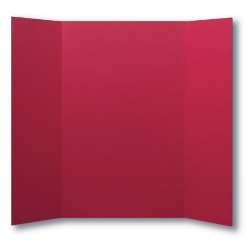 "Flipside 36"" x 48"" Red Foam Project Boards - 24pk (FS-30089) Image 1"