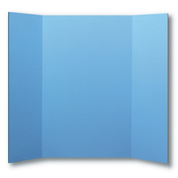 "Flipside 36"" x 48"" Sky Blue Foam Project Boards - 24pk (FS-30091) Image 1"