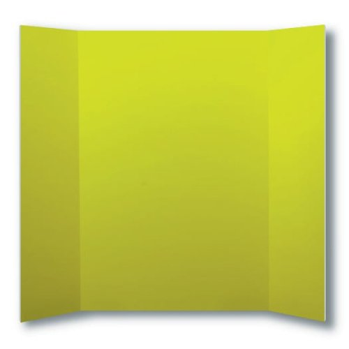 "Flipside 36"" x 48"" Yellow Foam Project Boards - 24pk (FS-30090) Image 1"