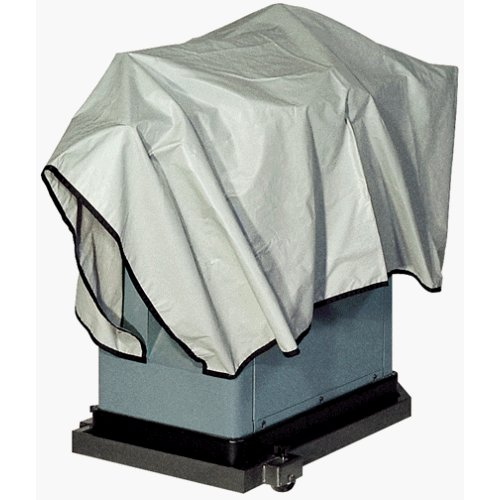 "36"" x 56"" Protective Machine Cover - Silver Breathable Water-Resistant Dust Cover (MYTS9056) Image 1"