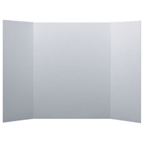 """Flipside 36"""" x 60"""" 1-Ply White Corrugated Project Boards - 18pk (FS-30035) Image 1"""