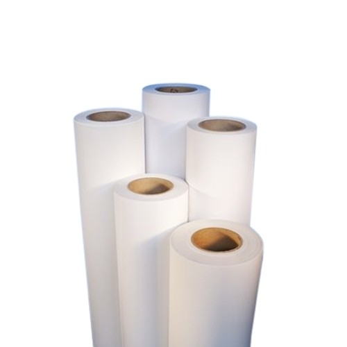 "SEAL Easy Dot 4mil White Matte 54"" x 164' Removable Adhesive Print Media (SED6030349) Image 1"