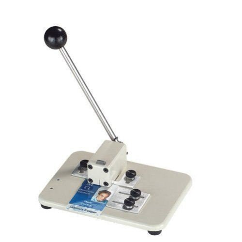 Manual Table Top Slot Punch With Adjustable Centering Guides (3943-1510) Image 1