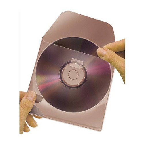 "3L Self-Adhesive 4 1/8"" x 3 15/16"" Diskette Pocket with Repositionable Flap - 1000pk (3L-104-10104) - $93.63 Image 1"