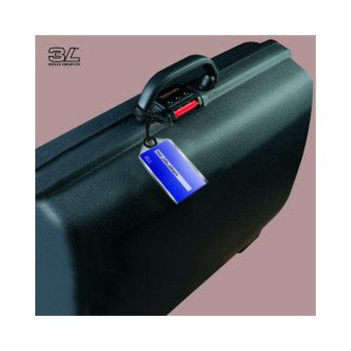 "3L Self-Laminating 2 13/16"" x 4 1/4"" Luggage Tag Size Pouches - 1000pk (3L-30572A) Image 1"