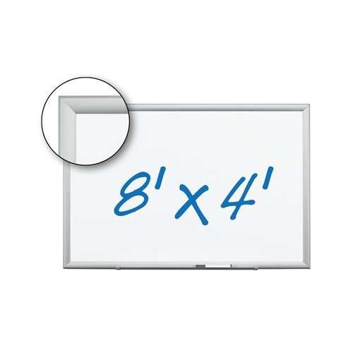 """3M 96"""" x 48"""" Magnetic Porcelain Dry-Erase Board (DEP9648A), Brands Image 1"""