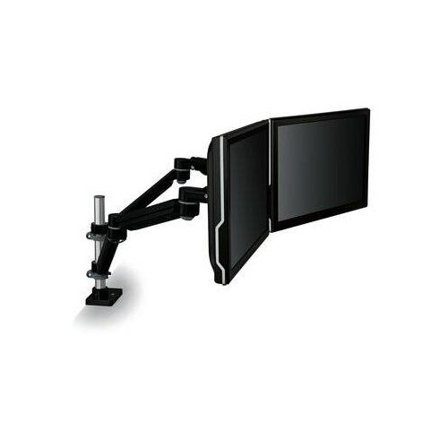 3M Easy Adjust Desk Mount Dual Monitor Arm (Black) (MA260MB) Image 1