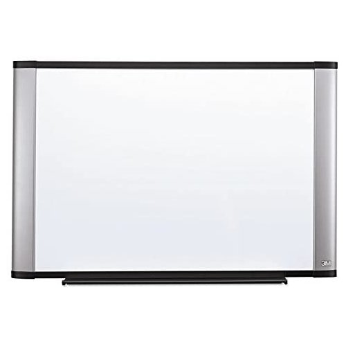"3M 72"" x 48"" Melamine Dry-Erase Board with Aluminum Frame (M7248A), Brands Image 1"
