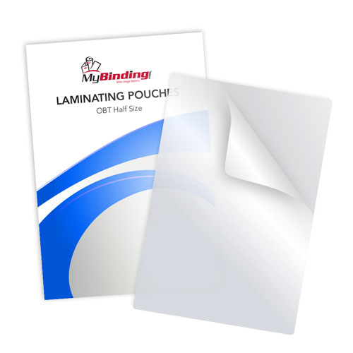 3mil Matte Clear Note Card Size Laminating Pouches - 100pk (LKLP3NOTEMC) Image 1