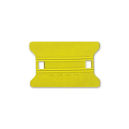 "4"" Yellow Medium Speed Wing Squeegee Installation Tool (SQSWY4) Image 1"