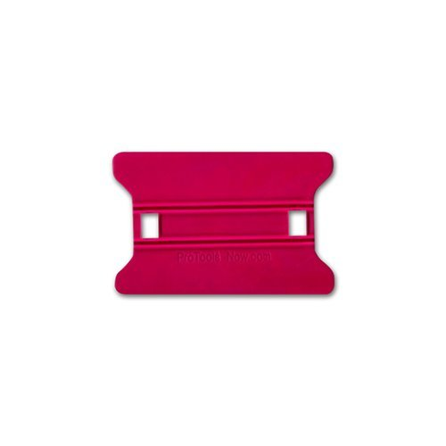 "4"" Red Soft Speed Wing Squeegee Installation Tool (SQSWR4), Finishing Equipment Image 1"