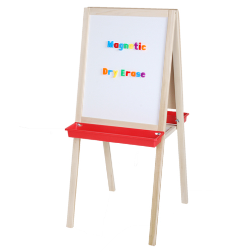 "Crestline 44"" x 19"" Magnetic Dry-Erase/Alphabetic Chalkboard Child's Easel (CL-17318)"